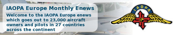 IAOPA Europe Enews November 2012 - Welcome to the IAOPA Europe enews which goes to 23,000 aircraft owners and pilots in 27 countries across the continent