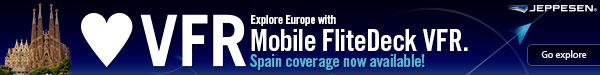 Jeppesen Mobile FliteDeck VFR Banner